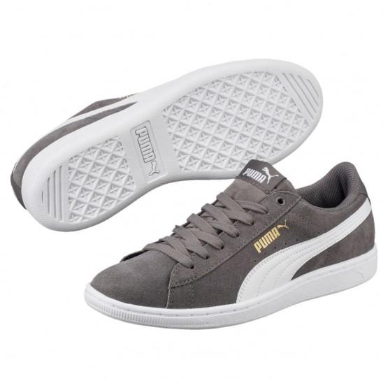 Puma Vikky Shoes Womens Quiet Shade-White (353CVIEL)