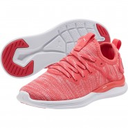 Puma IGNITE Flash Shoes Boys Paradise Pink-White (355BJDFH)