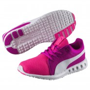 Puma Carson Runner 400 Shoes Boys Knockout Pink-White (356GCBML)