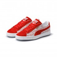 Puma x HELLO KITTY Shoes Womens Bright Red-Bright Red (356NHVMI)
