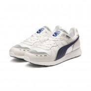 Puma RS-100 Lifestyle Shoes Mens Vaporousgray-Peacoat-Starwht (364XKBHF)