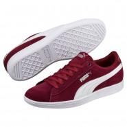 Puma Vikky Shoes Womens Pomegranate-White (365JPYHZ)