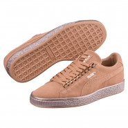 Puma Suede Classic Shoes Boys Dusty Coral-Rose Gold (374UKLBY)