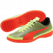 Puma Spirit Indoor Shoes Mens Yellow-Red-Black (375USQJH)