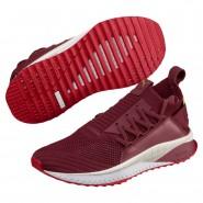 Puma TSUGI JUN Shoes Womens Pomegranate-Ribbon Red-White (379MSGCD)