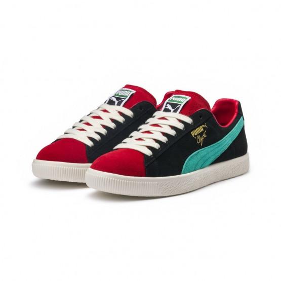 Puma Clyde Shoes Mens Higrskred-P Blk-Whspr Wht (398HVOND)
