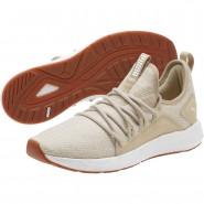Puma NRGY Neko Shoes Mens Pebble-White (401UKDXR)