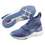 Puma Phenom Training Shoes Womens Blue Indigo-Whisper White (405HMTBD)