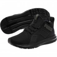 Puma Enzo Shoes Boys Black (407WESZO)