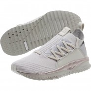 Puma TSUGI JUN Shoes Womens Gray Violet-Metallic Beige (413XIDBT)