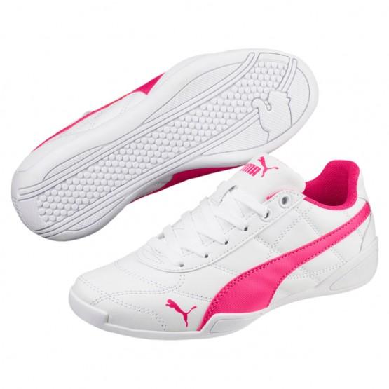 Puma Tune Cat 3 Shoes Boys White-Beetroot Purple (419NSGTI)