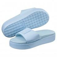 Puma Platform Sandals Womens Cerulean-Peacoat (420IUWXT)