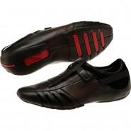 Puma Vedano Shoes Mens Black-Black-Ribbon Red (420MFPCB)