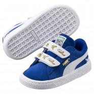 Puma Minions Shoes Boys Olympian Blue-White (420YODEM)