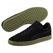 Puma Suede Classic Shoes Mens Black-Capulet Olive (421ORXWB)