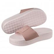 Puma Platform Shoes Womens Peach Beige-Pearl (428ENFTY)