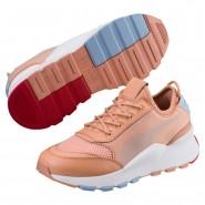 Puma RS-0 Play Shoes Boys Dcoral-Dcoral-White (431YCXHM)