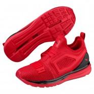 Puma IGNITE Limitless Shoes Boys Ribbon Red-Black (434FYTHK)