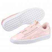 Puma Basket Maze Shoes Womens Pearl-White (438MXJBN)