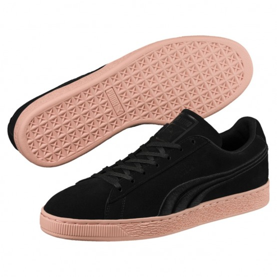 Puma Suede Classic Shoes Mens Black-Muted Clay (443AGBYR)