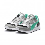 Puma RS-100 Lifestyle Shoes Mens Grayviolet-Biscaygreen-White (444HCLND)