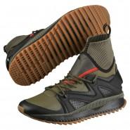 Puma TSUGI Running Shoes Mens Black-Olive Night (446MGWXY)