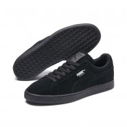 Puma Suede Classic Shoes Mens Black-Dark Shadow (446WRFXG)