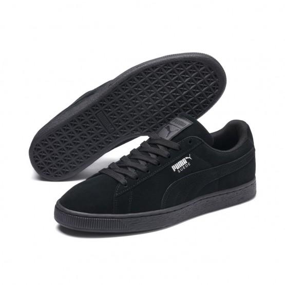 Puma Suede Classic Shoes Mens Black-Dark Shadow (446WRFXG)