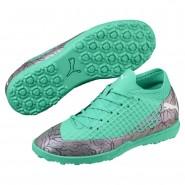 Chaussure Puma FUTURE Garcon Vert/Blanche/Noir (453UFRCL)