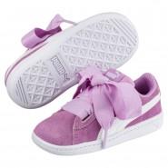 Chaussure Puma Vikky Fille Violette/Blanche (459ADRHL)