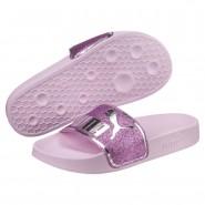 Puma Leadcat Shoes Boys Orchid-Orchid-Silver (460LGOXV)