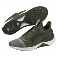 Puma Amp XT Shoes Womens Laurel Wreath-Forest Night (463SKUMZ)
