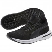Puma IGNITE Limitless Running Shoes Womens Black (465CPOSZ)