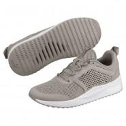 Puma Pacer Next Shoes Boys Elephant Skin-E.Skin-White (468AMTZS)