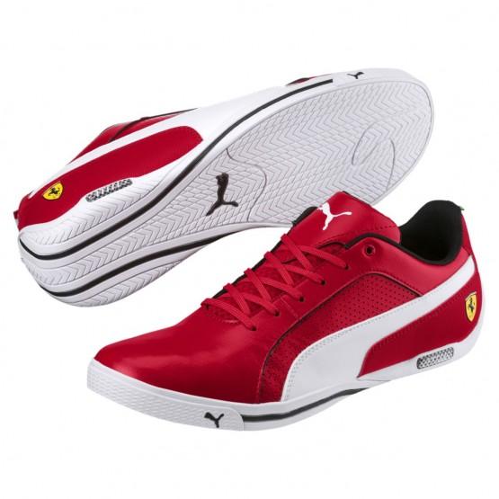 Puma Scuderia Ferrari Shoes Mens Rosso Corsa-White (468YJCGN)
