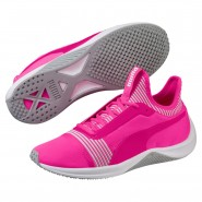 Puma Amp XT Shoes Womens Knockout Pink-White (474MVEZC)