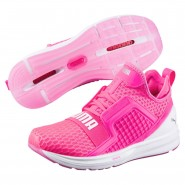 Puma IGNITE Limitless Running Shoes Womens Knockout Pink (477JAVUB)