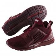Puma IGNITE Limitless Running Shoes Mens Tibetan Red-Silver (477YZKBX)