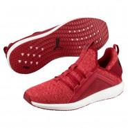 Puma Mega NRGY Shoes Mens Red Dahlia-Flame Scarlet-Blk (480XKSRQ)