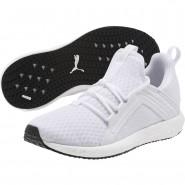 Puma Mega NRGY Training Shoes Womens White-White (482ZKORY)