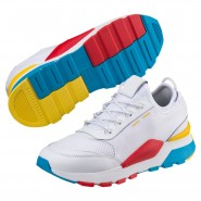 Puma RS-0 Play Shoes Boys White-White-White (492QRAEH)