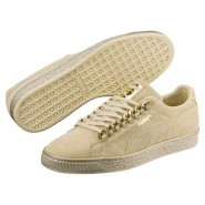 Puma Suede Classic Shoes Mens Reed Yellow-Metallic Gold (496SIMTO)