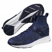 Puma IGNITE evoKNIT Shoes Mens Bluedepth-Quietshade-Peacoat (508RNBQG)