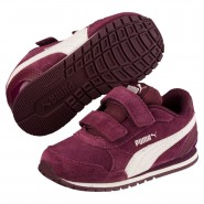 Puma ST Runner v2 Shoes Girls Fig-Whisper White (514EDYKO)
