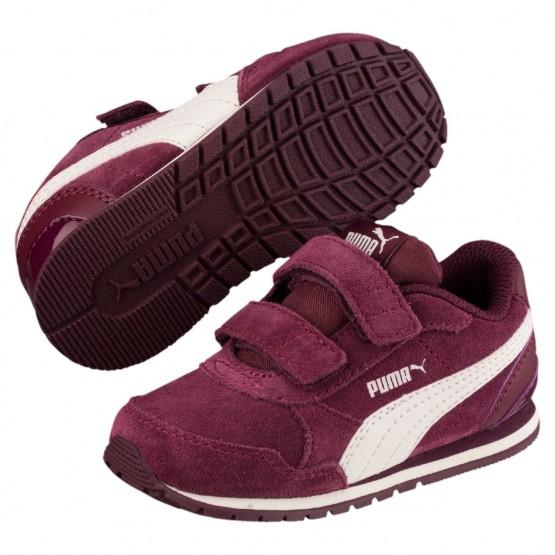 Puma ST Runner v2 Shoes Girls Fig-Whisper White (514EDYKO)
