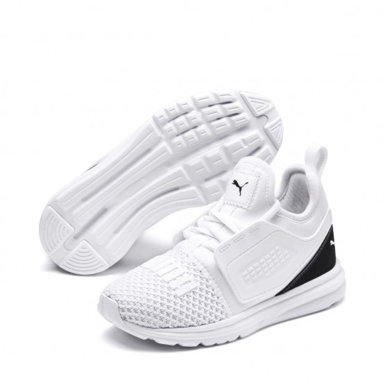Puma Limitless Shoes Girls White-Black (518NRESH)