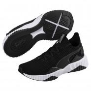 Puma Defy Training Shoes Womens Black-White (521IULYS)