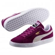 Chaussure Puma Suede Classic Homme Violette/Blanche (523ILDQE)