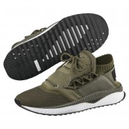 Puma TSUGI SHINSEI Running Shoes Mens Olive Night-White (524NFPXI)