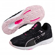 Puma Speed Shoes Womens Black-Winsomeorchid-Kpink (526SLKEG)